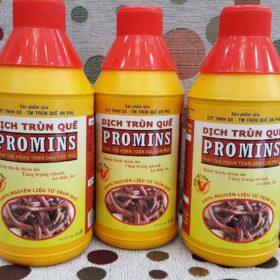 Dịch trùn quế promins nuôi lươn